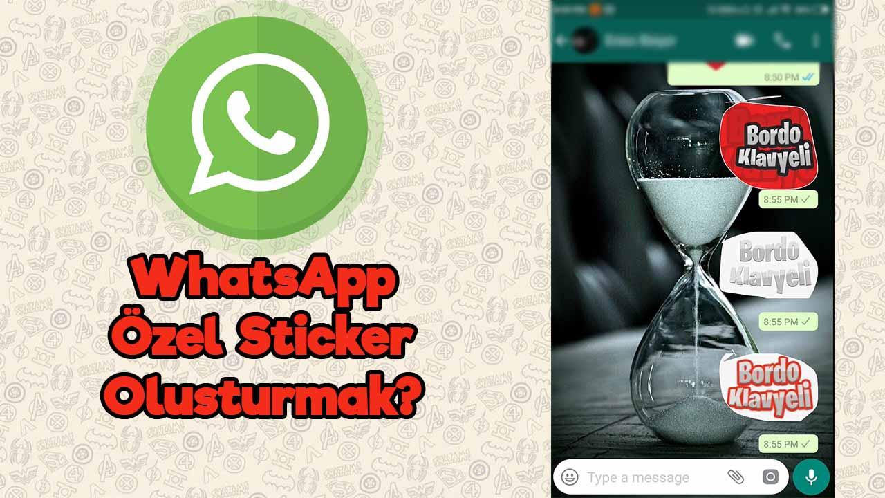 whatsapp özel çıkartma paketi oluşturma
