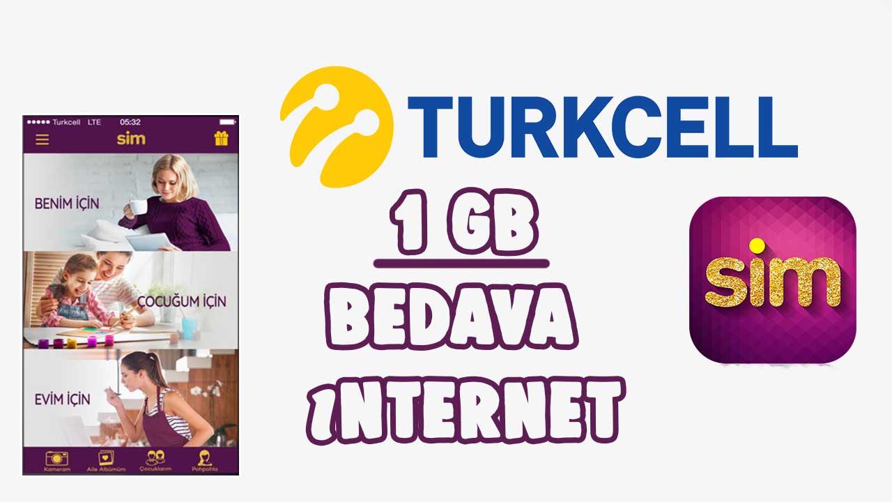 Turkcell SİM İndirim Paylaş 1GB Hediye Kampanyası