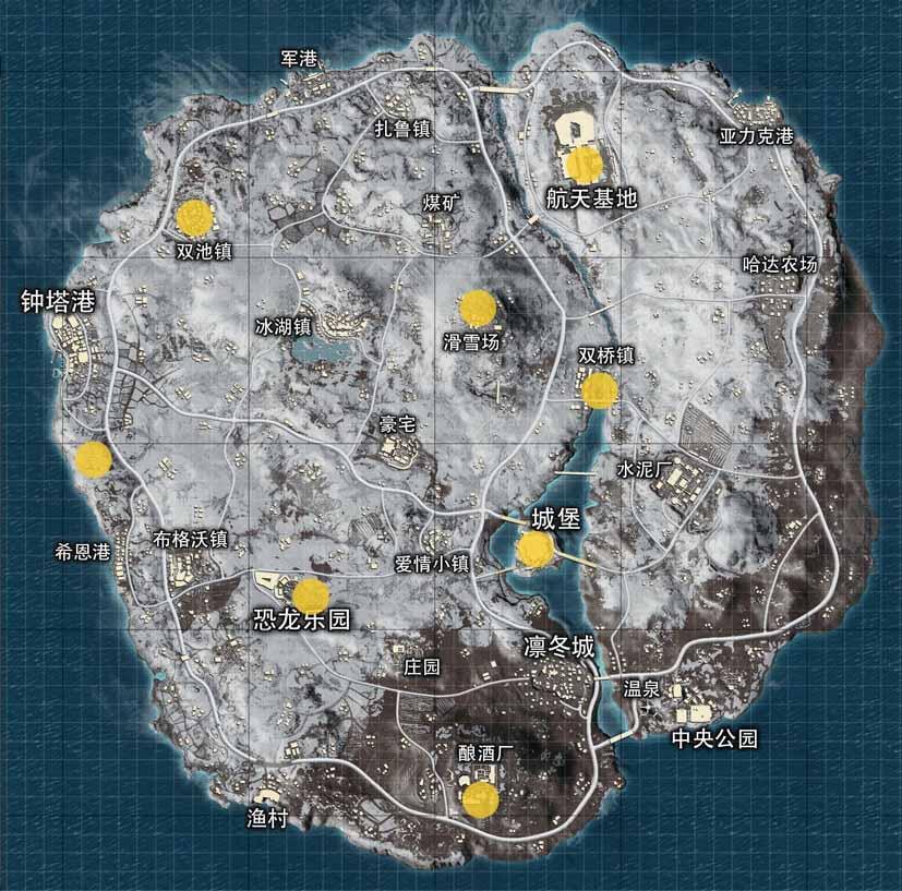 vikendi haritası çin ejderhaları