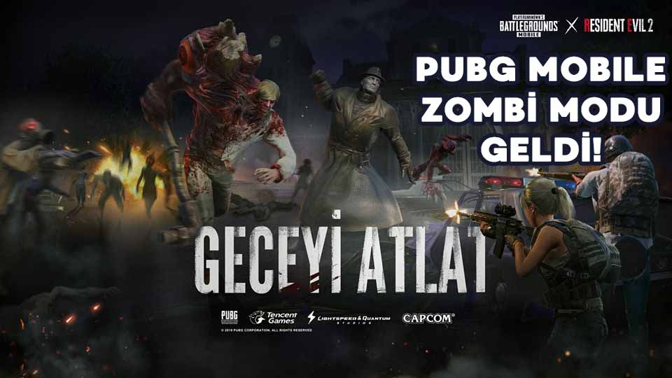 pubg mobile zombi modu