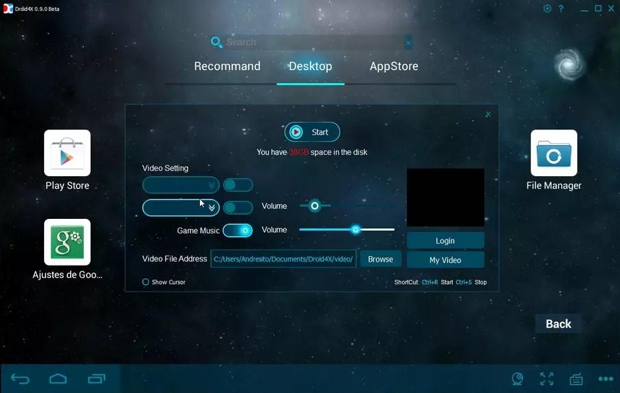 droid4x emulator