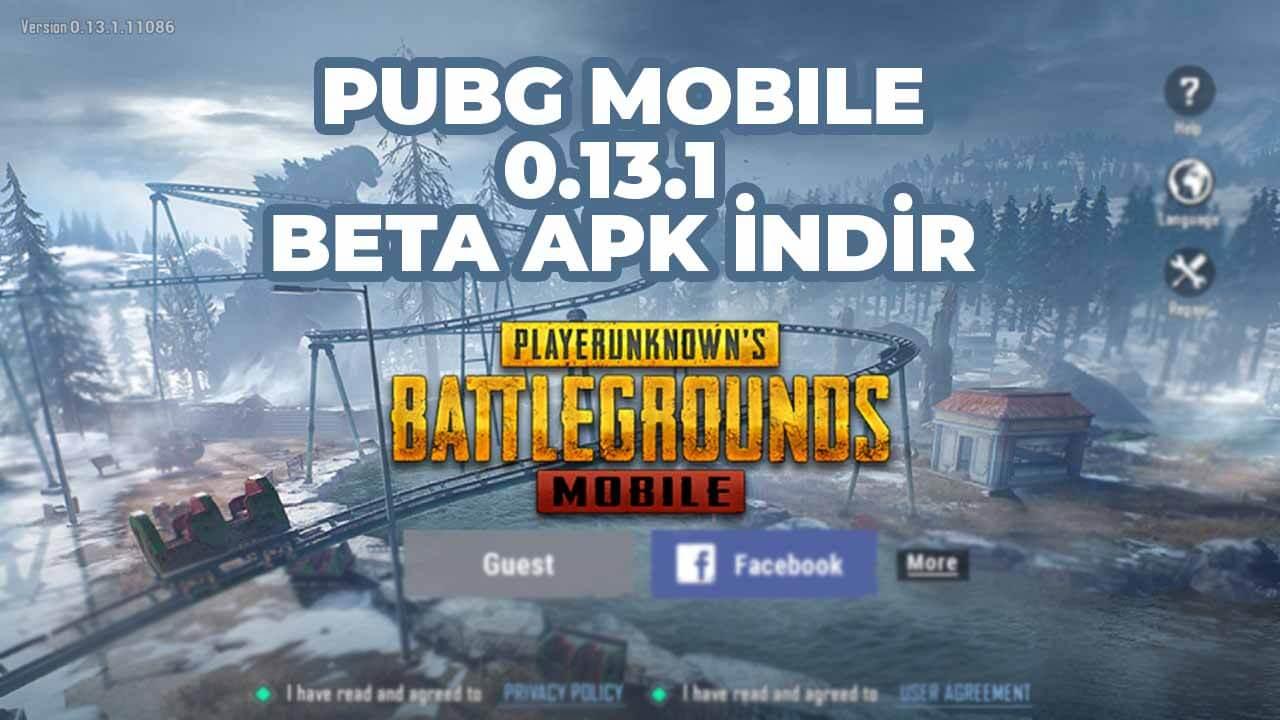 pubg mobile 0.13.1 apk indir
